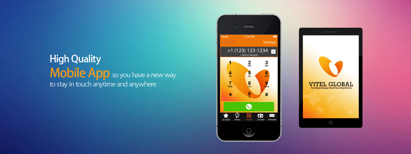 VoIP Business Communications App in New Jersey, US - Vitel Global